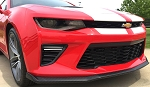 Gen 6 Camaro SS 2016+ Custom Hydro Carbon Fiber T6 Style Front Bumper Lower Lip - OE Color Options