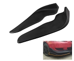 Black Plastic Front Shovel Racing Car Bumper Spoiler