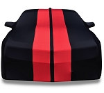 Gen 5 Gen 6 Camaro 2010-2019 Ultraguard Stretch Satin w/ Stripes Car Cover