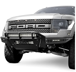2010-2014 Ford F-150 Raptor Addictive Desert Designs Race Series Front Bumper for 6in SR LEDs
