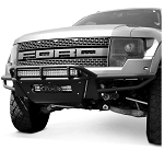 2010-2014 Ford F-150 Raptor Addictive Desert Designs Race Series Front Bumper w/ 3inch Dually Lights