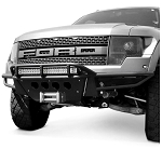 2010-2014 Ford F-150 Raptor Addictive Desert Designs Race Series Front Bumper with Winch