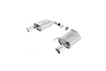 2015-2017 Ford Mustang 2.3L EcoBoost Touring Muffler Kit w/ 4 in Chrome Tips