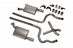 2005-2009 Mustang V6 Ford Performance Touring Dual Exhaust Kit