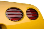 C5 Corvette 1997-2004 Carbon Fiber Tail Light Louvers