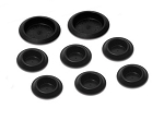 C3 Corvette 1968-1976 Floor Pan Drain Plugs - 8 Piece Set