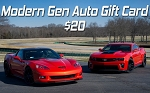 $20 Modern Gen Auto Gift Card - PURCHASE WITH REWARDS POINTS