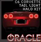 C6 Corvette 2005-2013 Oracle Red SMD Tail Light Halo Kit