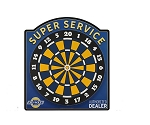Chevrolet Super Service Dartboard