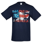 Chevrolet Made In America Shirt - Blue