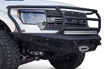 2010-2014 Ford F-150 Raptor Addictive Desert Designs HoneyBadger Rancher Front Bumper w/ Winch Mount