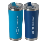 Chevrolet Bowtie 24 Oz Brooklyn Tumbler - 2 Color Options