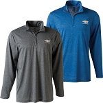Chevrolet Gold Bowtie Cool & Dry Performance Quarter-Zip Jacket