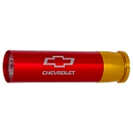 Chevrolet Bowtie Shotgun Shell Case Flashlight