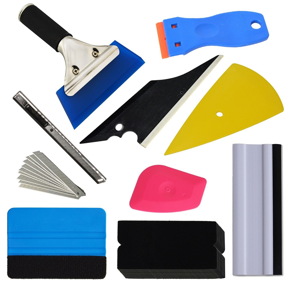 Automotive Wrap/Tint/Vinyl Installation Tool Kit - 9pc Set
