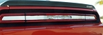 2008-2014 Dodge Challenger 5.7L & SRT 8 Brushed Stainless Steel Tail Light Trim Plate