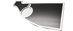 2008-2014 Dodge Challenger Anti-Lock Brake/Washer Trim Top Plate - Real Carbon Fiber or Brushed Stainless Finish Options