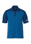 Ford Short Sleeve Olympic Blue Heather / Invictus Polo