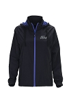 Ford Ladies Lightweight Jacket - Black / Royal