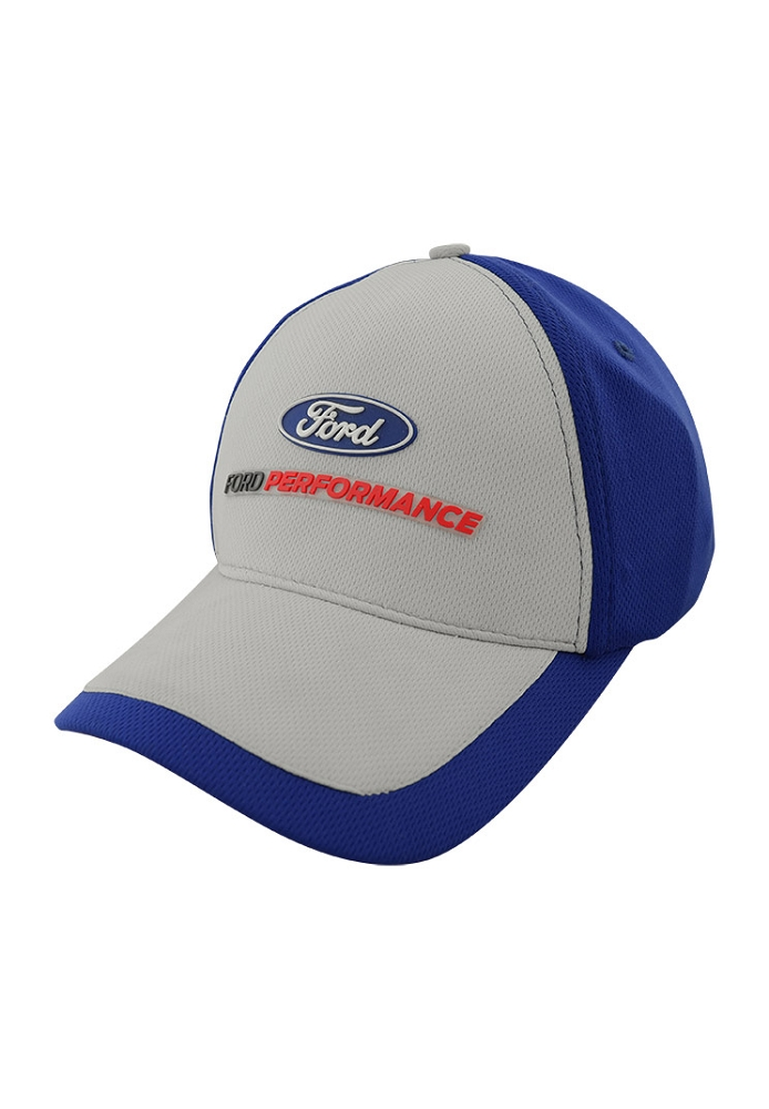 Ford Performance Gray and Blue Baseball Cap  34f4583c06d