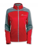 Gen 5 Gen 6 Camaro 2010-2016+ Swoosh Colorblock Full-Zip Jacket - Red/Heather Gray - Size Options Available