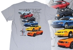 2005-2015+ Ford Mustang Nothing But Mustang T-Shirt - Gray