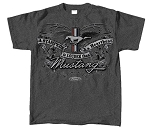 2005-2015+ Ford Mustang Louder Than A Heartbeat T-Shirt