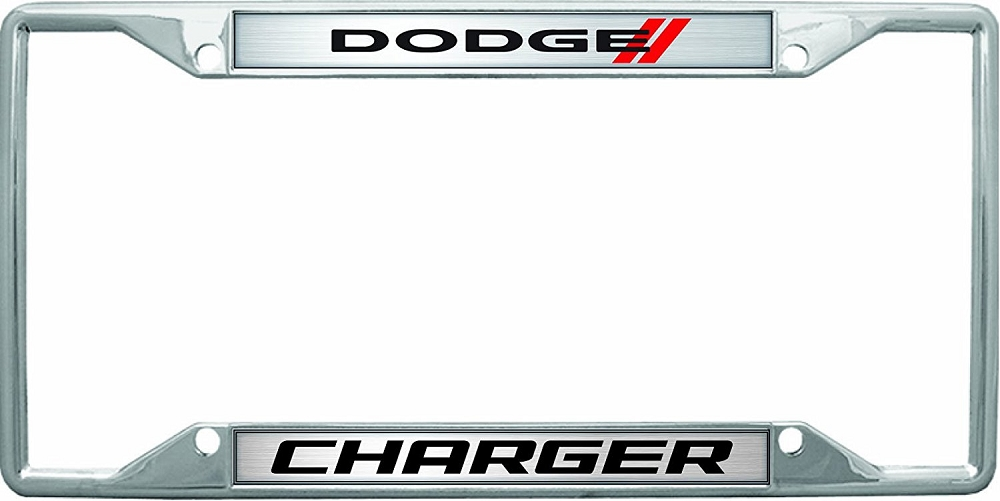 2006-2011+ Dodge Charger Stripes & Script Chrome Plated License ...
