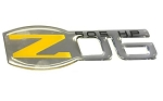 C5 Corvette 2001-2004 Premium UV Coated Z06 Emblem - 2001-2004 Style - Color & Size Options