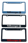 Volkswagen Brand Script License Plate Frame - Color/Finish Selections