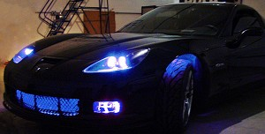 C6 Corvette 2005-2013 LED Front Grille Lighting Kit