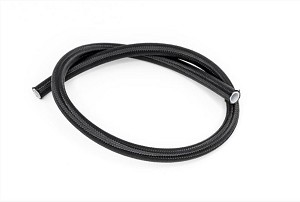 3 foot black nylon fuel line