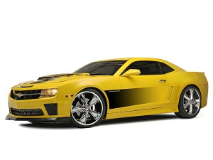 Gen 5 Camaro 2010-2013 Side Sport Fade Graphic