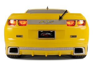 Gen 5 Camaro 2010-2013 Trunk Lid Plate w/ Laser Etched RS