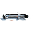 911 Carrera Muffler Bypass Pipe with turndown