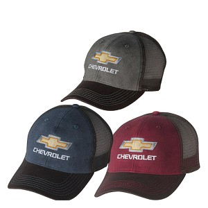 Chevrolet Gold Bowtie Dirty Wash Cap