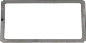 C2 C3 C4 C5 C6 C7 Corvette 1963-2019 Stainless Steel License Plate Frame - Set of 2
