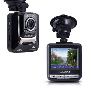 Full HD 1080P Car DVR Dashcam - 130 Degree Angle - Motion Detection