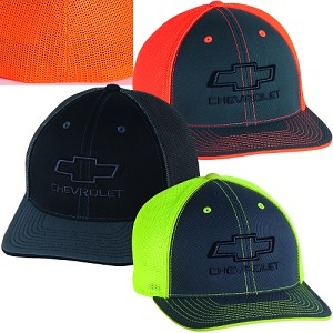 91cbad3e577 Chevrolet Bowtie Neon Fitted Hat - 3 Color Options