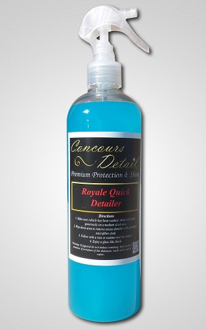 Concours Detail Premium Protection & Shine Car Cleaning Products - Royale Quick Detailer