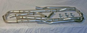 C2 Corvette 1963 2in Small Block Chambered Exhaust System - Auto