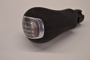 C7 Corvette Stingray/Z06/Grand Sport 2014-2019 GM OEM Manual Suede Shift Knob - Stitching Color Selection