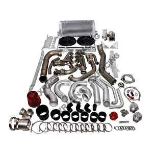 C6 Corvette 2005-2013 LS3 Complete Turbo Kit - Intercooler Piping Color Options