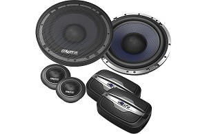 Axxera 200W 6.5 Inch AS Series Component Speakers