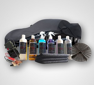 Car Cleaning & Maintenance Kit - With Cover