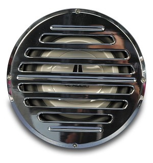 Billet Aluminum 8in Classic Style Sub Woofer Grill - Multiple Finishes Available