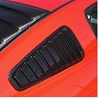 2005+ Ford Mustang ABS Side Closed Window Louvers - 10 Piece