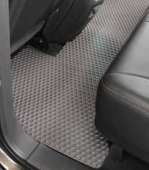 1997-2004 Jeep Wrangler TJ Lloyd RubberTite 2nd Seat Floor Mat - 1 pc - Multiple Options