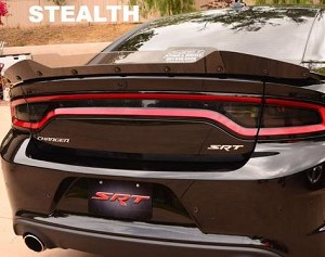 2015-2018 Dodge Charger SRT / Hellcat / Scat Pack Stealth Design Wicker Bill - Multiple Options