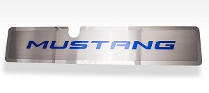 2015-2017 Ford Mustang GT / EcoBoost Radiator Cover Vanity Plate w/ Mustang Lettering
